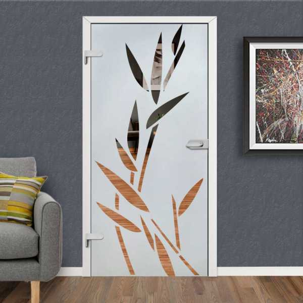 Hinged Glass Door HGD-H+H-0107 (Semi-private)