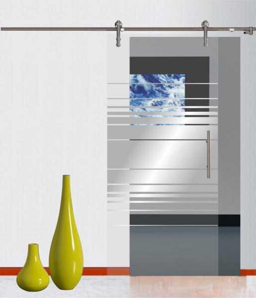 Sliding Glass Barn Door SGD-V1000-0145 semi-private
