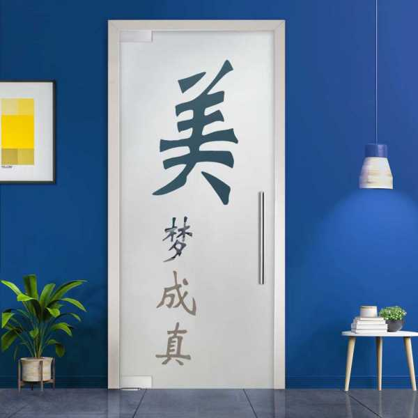 Pivot Glass Door (Model PD-0067 Semi-Private) with Handle Bar
