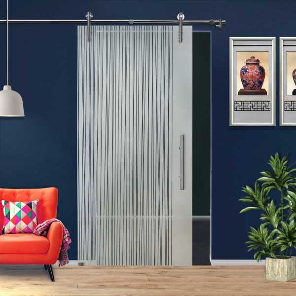 Sliding Glass Barn Door SGD-V1000-0111