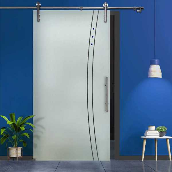 Sliding Glass Barn Doors SGD-V1000-0019
