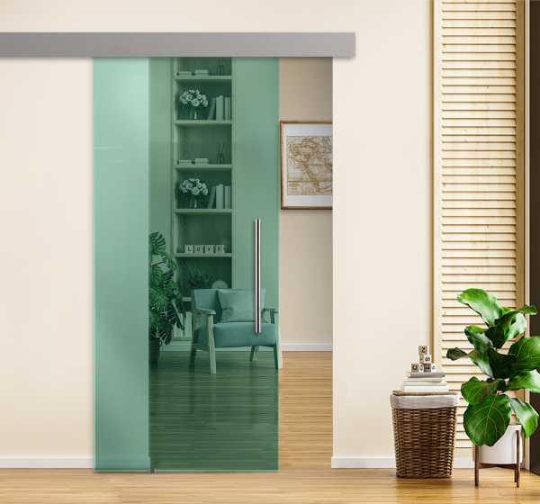 Sliding Glass Barn Door SGD-ALU100-0260
