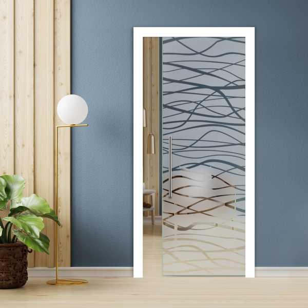 Pocket Glass Sliding Door PSGD-00052