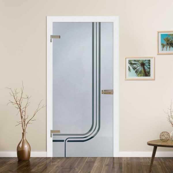 Hinged Glass Door HGD-H+H-0083