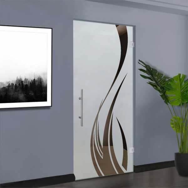 Pivot Glass Door SD-0128