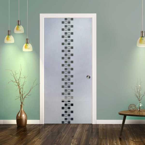 Pocket Glass Barn Door (Model PSGD-0071 Semi-Private)