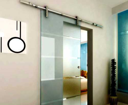 """Stainless Steel Sliding Barn Door Hardware 98"""" Inches Length without Handle"""