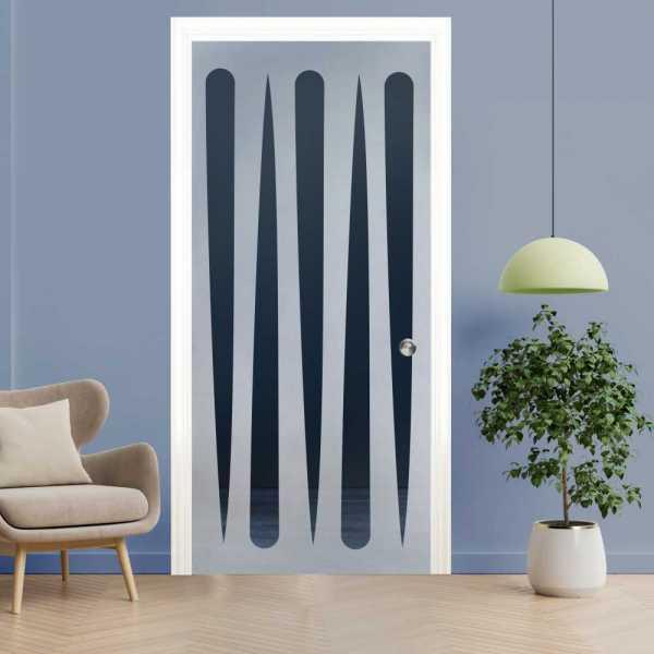 Pocket Glass Barn Door (Model PSGD-0058 Semi-Private)
