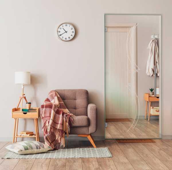 Pivot Glass Door SD-0089