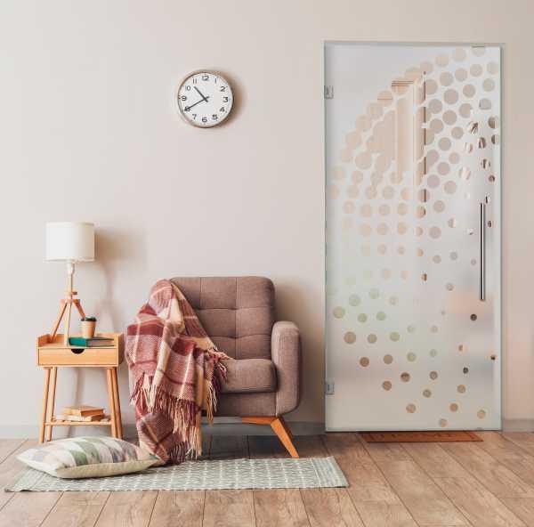 Swing Glass Door (Model SD-0155 Semi-Private)