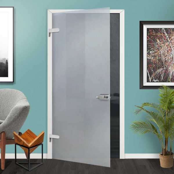 Hinged Glass Door Full-Private (Open to Left)