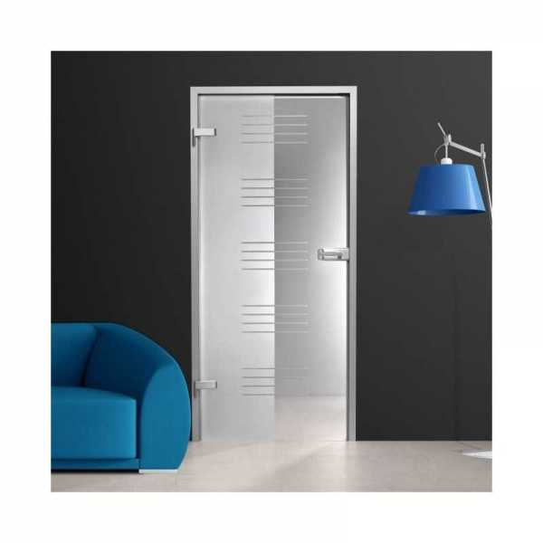 Hinged Glass Door (Model HGD-H+H-0064 Full-Private)