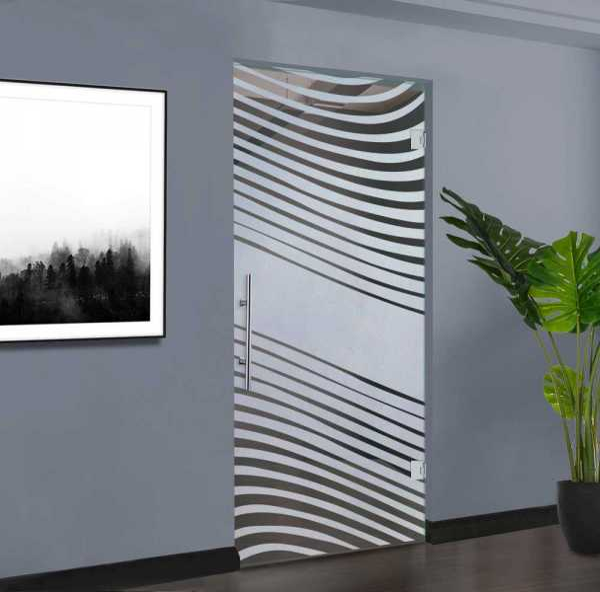 Swing Glass Door (Model SD-0168 Semi-Private)
