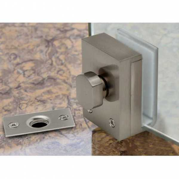 Floor Lock for 12mm Glass Thickness