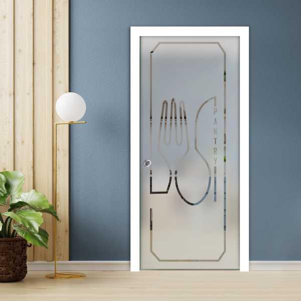 Pocket Glass Barn Door (Model PSGD-0003 Semi-Private)