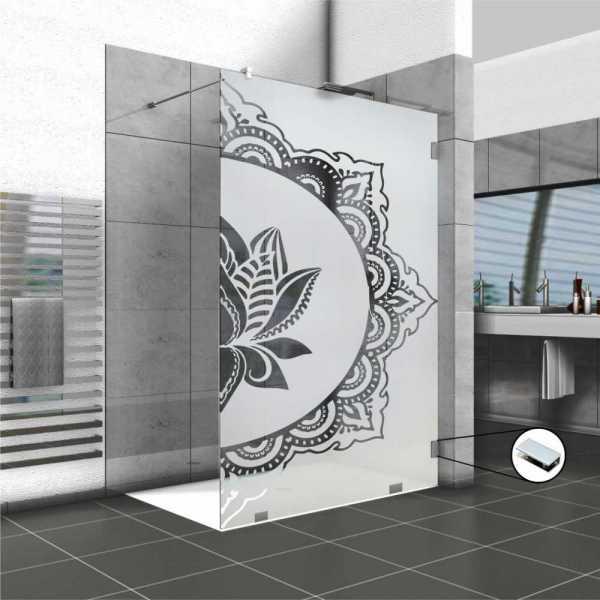 Glass Barn Door (Model FSS-0040 Semi-Private