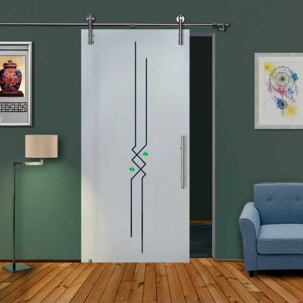 Sliding Glass Barn Door SGD-V1000-0118