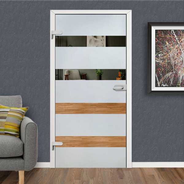 Hinged Glass Door HGD-H+H-0114 (Semi-private)