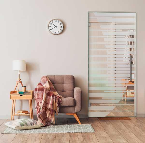 Swing Glass Door (Model SD-0166 Semi-Private)