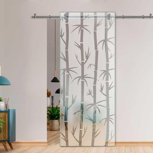Glass Barn Door (Model SGD-V2000-0418 Semi-Private)