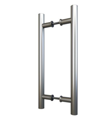 """15"""" inch handle kit for two doors"""