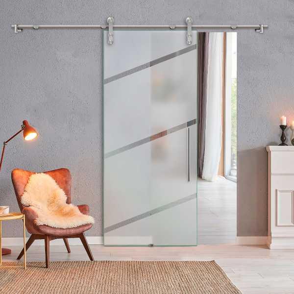 Sliding Glass Barn Door SGD-V1000-0208