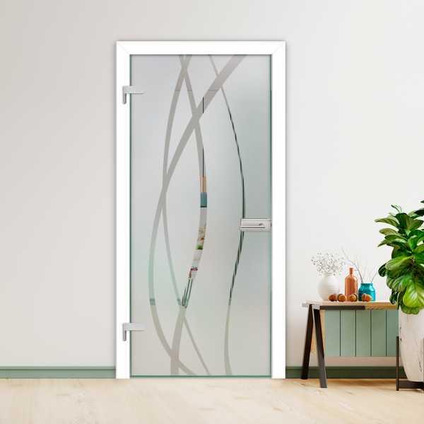 Hinged Glass Door HGD-H+H-0088