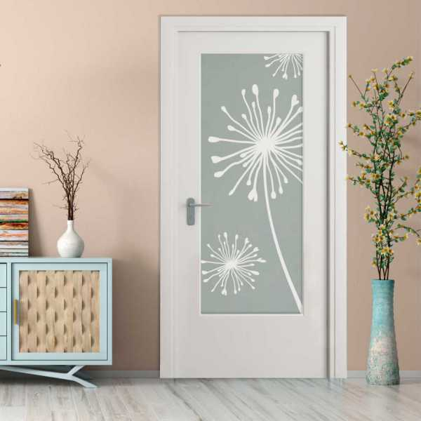 MDF Hinged Doors with Glass Insert HMDI-0003
