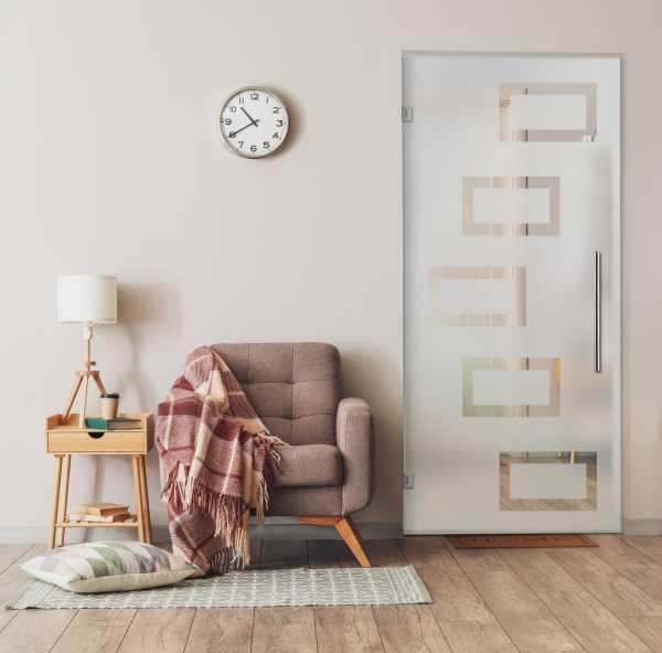 Swing Glass Door (Model SD-0045 Semi-Private)