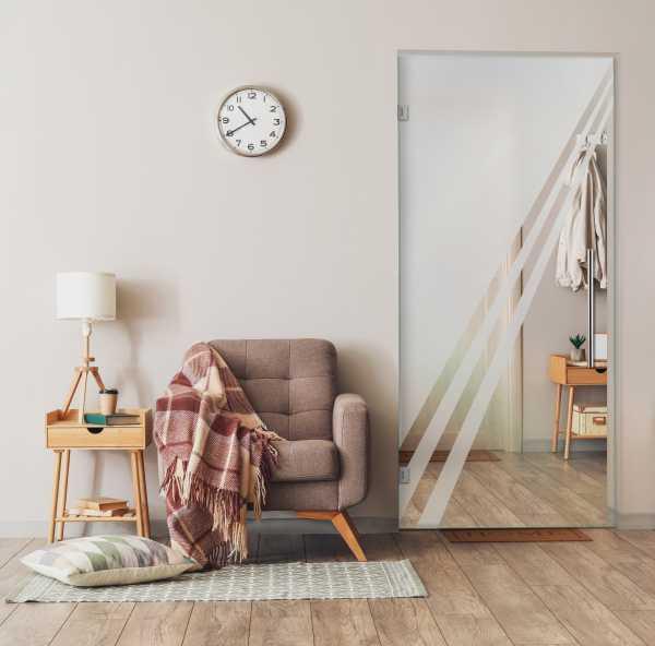 Pivot Glass Door (Model SD-0150 Semi-Private)