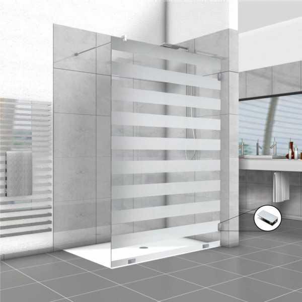 Frameless Fixed Shower Glass Panel FSS-0017