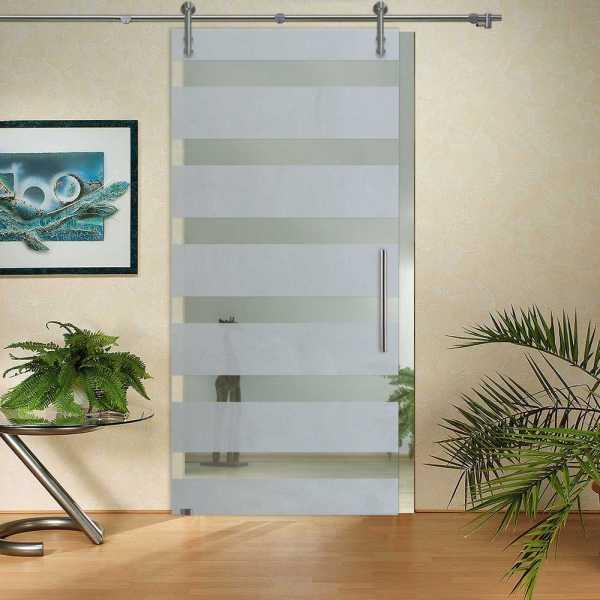 Sliding Glass Barn Door SGD-V1000-0052