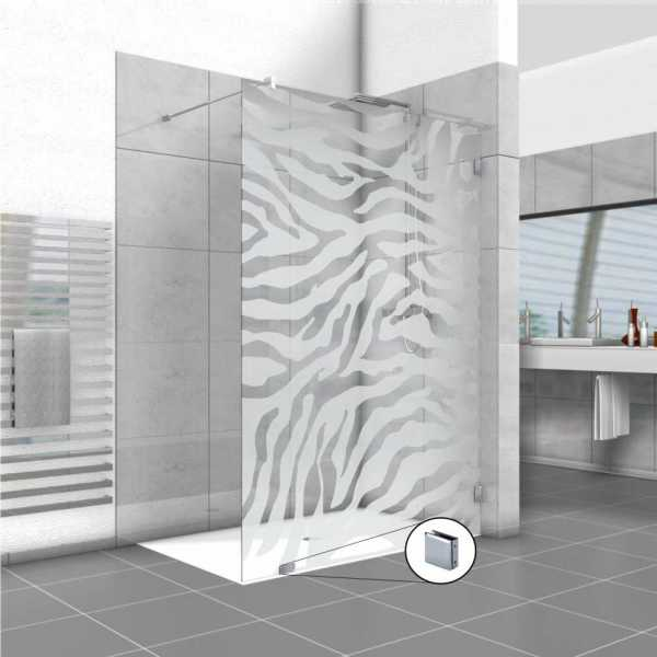 Frameless Fixed Shower Glass Panel FSS-0014