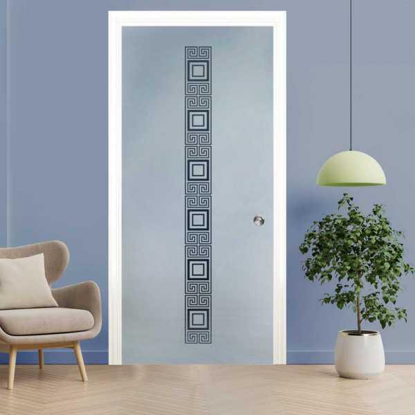 Pocket Glass Barn Door (Model PSGD-0008 Semi-Private)