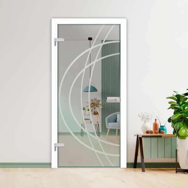 Hinged Glass Door HGD-H+H-0095