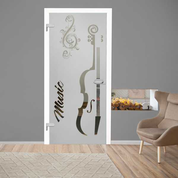 Hinged Glass Door CHGD-H+H-0005