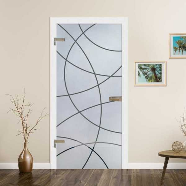 Hinged Glass Door HGD-H+H-0015