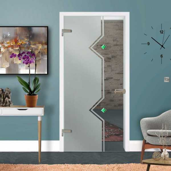 Hinged Glass Door HGD-H+H-0027