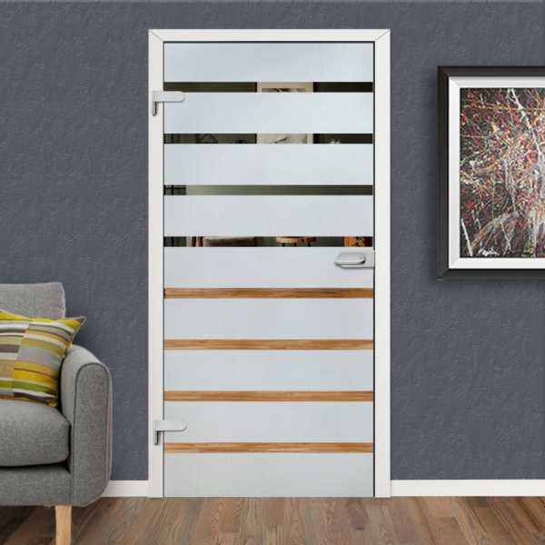 Hinged Glass Door HGD-H+H-0096 (Semi-private)
