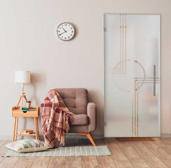 Swing Glass Door (Model SD-0156 Semi-Private)