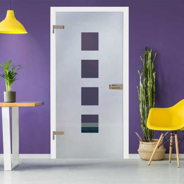Hinged Glass Door HGD-H+H-0034