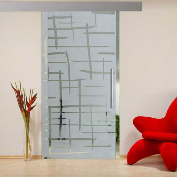 Sliding Glass Barn Door SGD-ALU100-0231