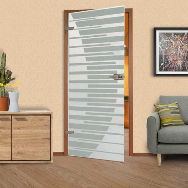 Hinged Glass Door HGD-H+H-0007