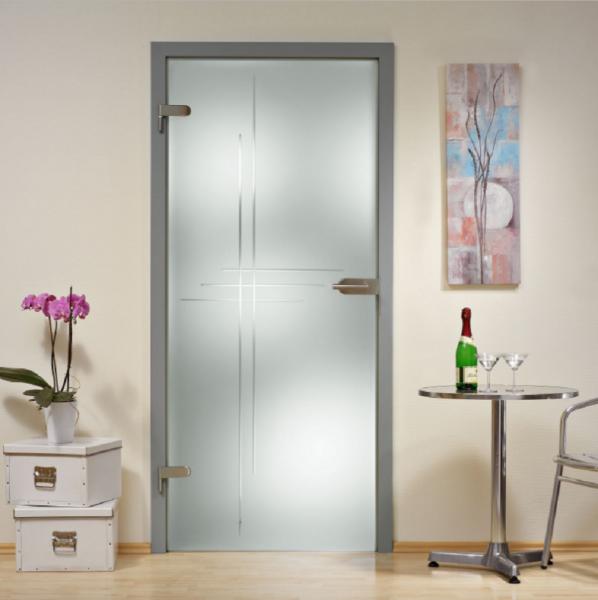 Hinged Glass Door HGD-H+H-0020