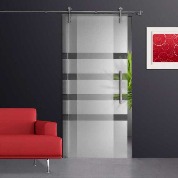Sliding Glass Barn Door SGD-V1000-0040