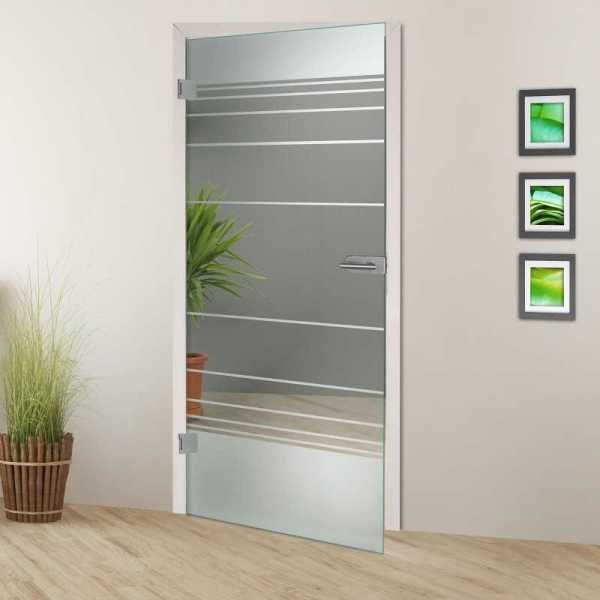 Hinged Glass Door HGD-H+H-0093