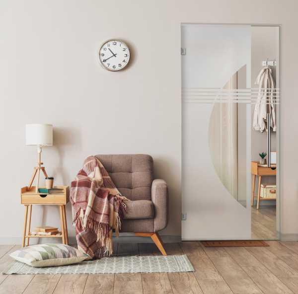 Pivot Glass Door SD-0049