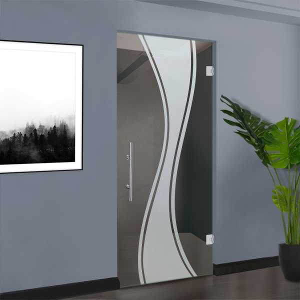 Pivot Glass Door SD-0085