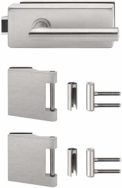 Glass Door fitting set Unlockable