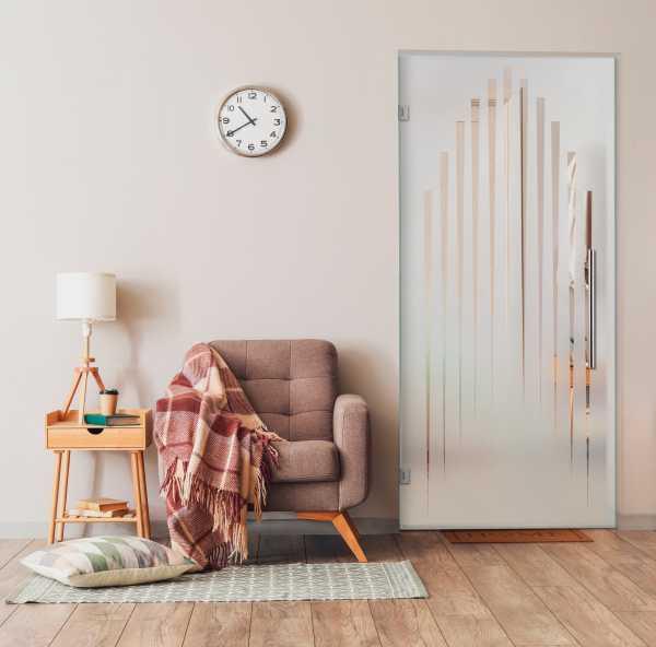 Swing Glass Door (Model SD-0171 Semi-Private)